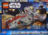 LEGO 7964 Star Wars Clone Wars Republic Frigate Box