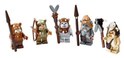 LEGO 10236 Ewok Village Ewok Minifigures
