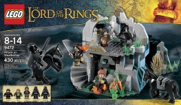 Lego Attack On Weathertop 9472 Box Lord Of the Rings
