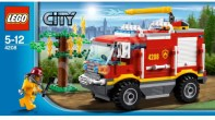 Lego City 2012 4x4 Fire Truck