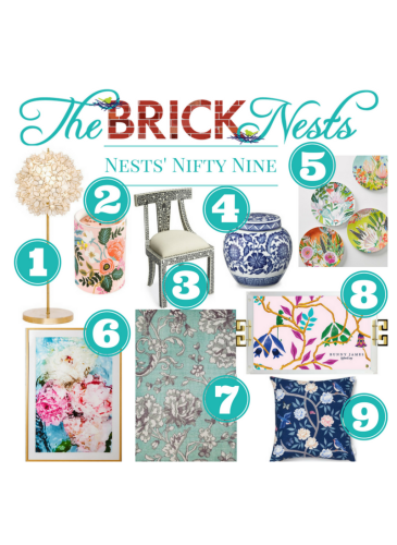 Nests' Nifty Nine — Florals for the Home