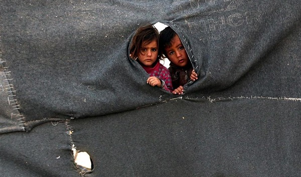 UN and relief agency workers saw starving people, malnourished children in two besieged Syrian areas this year [Xinhua]