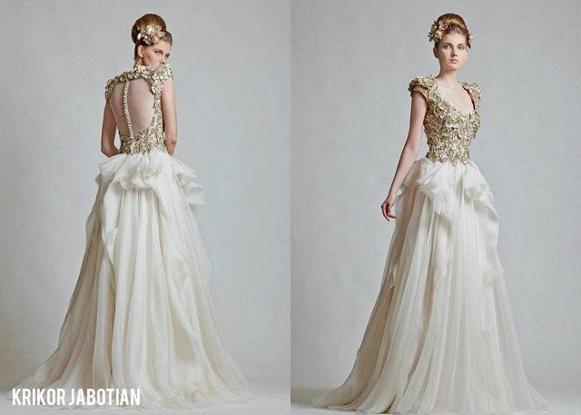 Krikor Jabotian Designs Wedding Gowns Fit For A Princess
