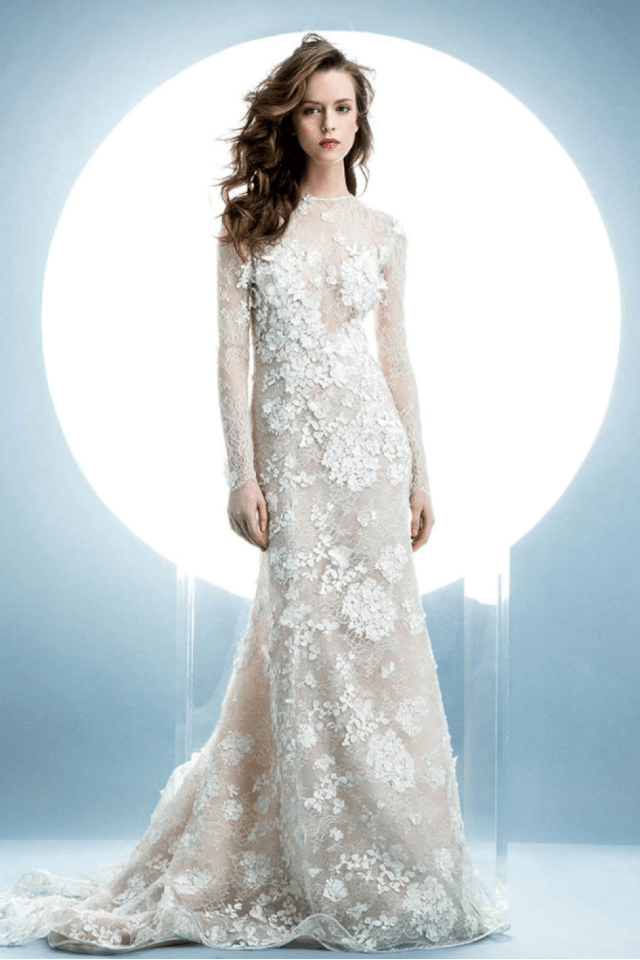 Angel Sanchezs Spring 2016 Bridal Collection The Bridal