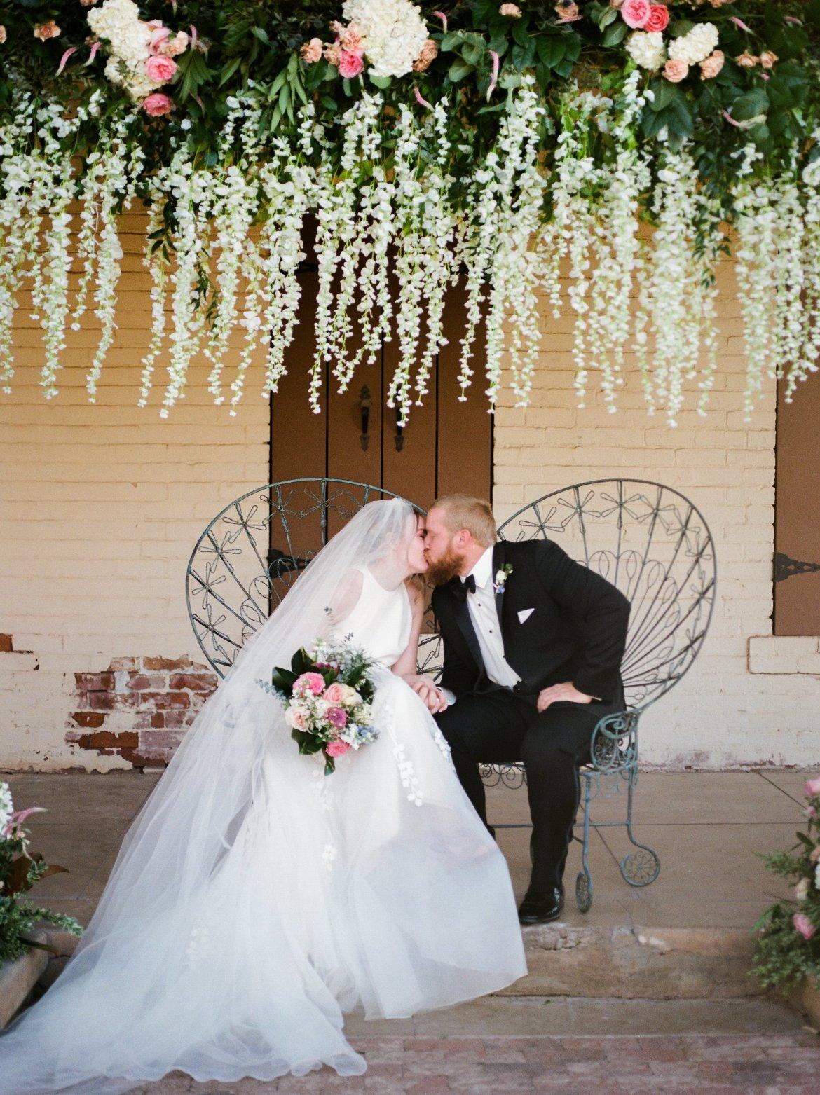 Dreamy Garden Wedding Inspiration at the Sierra Vista House in Phoenix, AZ   The Bridechilla Blog   Photo by Sara Bishop Photography