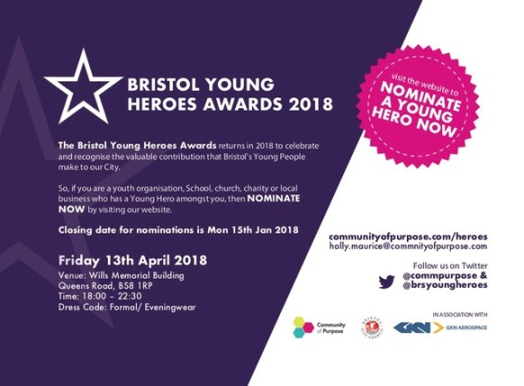 Bristol Young Heroes Awards