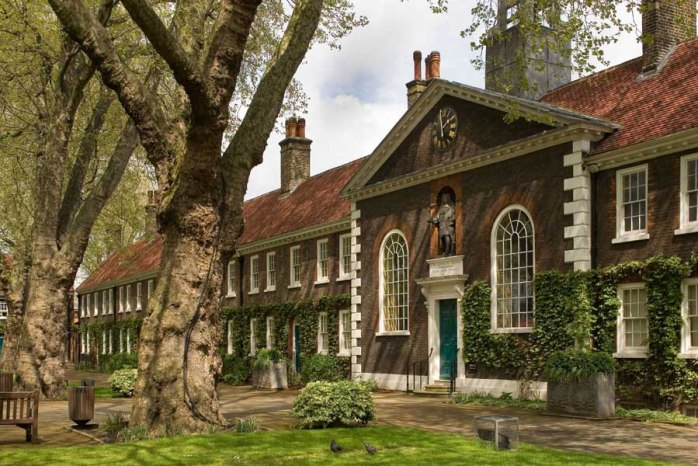 The lovely Geffrye Museum of the Home in London!