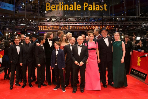 The Grand Budapest Hotel with Bill Murray: at the Opening Gala. Berlinale 2014