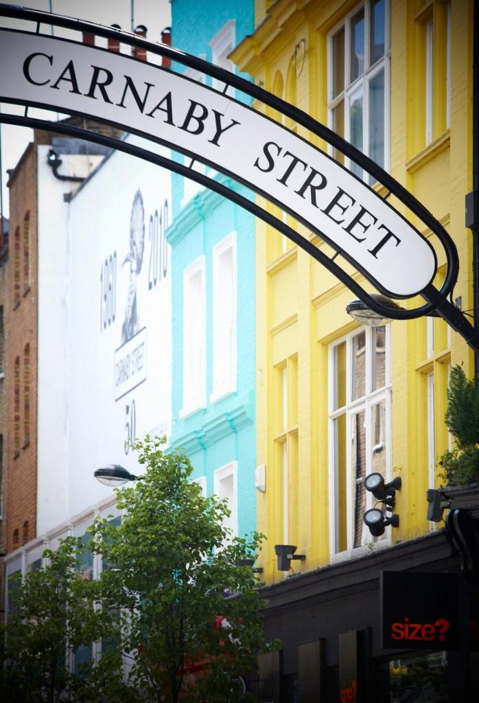 Carnaby Street Market in London.