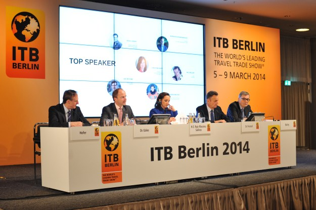 ITB Berlin Press Conference, 2014.