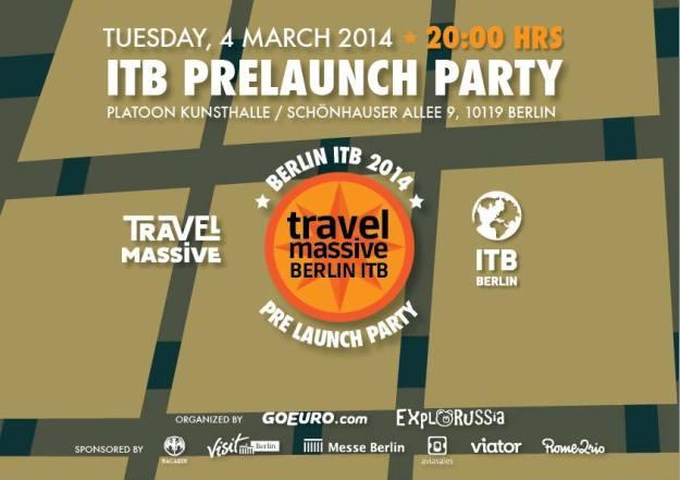 Travel Massive ITB Berlin Pre-launch Party