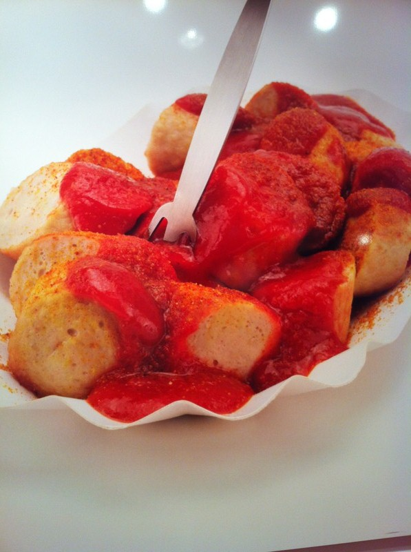All you need is a plate of Berlin's delicious speciality - currywurst.