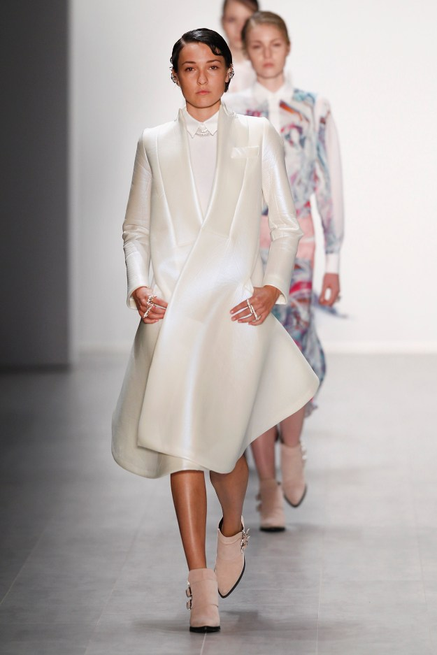 Chatty Show - Mercedes-Benz Fashion Week Spring/Summer 2015.