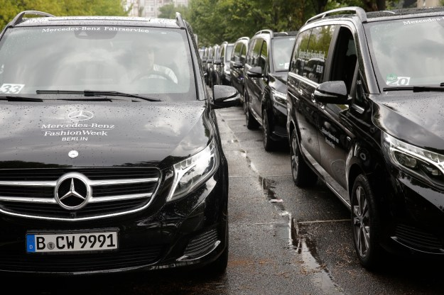 Fashion Week Berlin. Mercedes-Benz Exclusive-Shuttle-Service