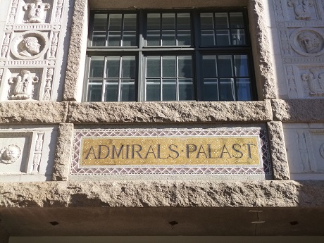 A beautiful piece of the Admiralspalast in Berlin.