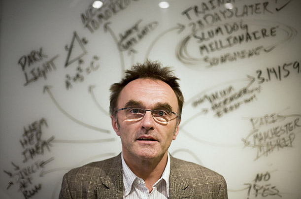 Danny Boyle. Photo@ Lucas Jackson - Time.com