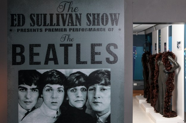 A poster of the Ed Sullivan show in America.