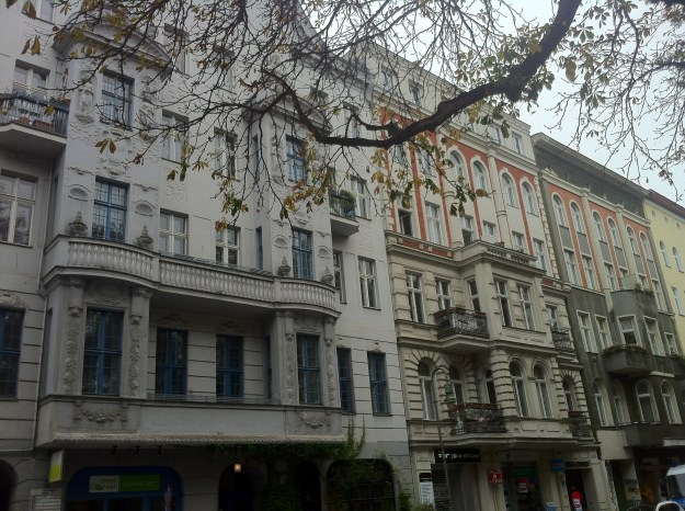 Beautiful 19th century classical buildings in Kreuzberg - Berlin.