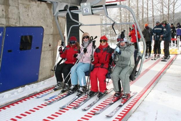 The Alpine ski lift in Rokytnice nad Jizerou!