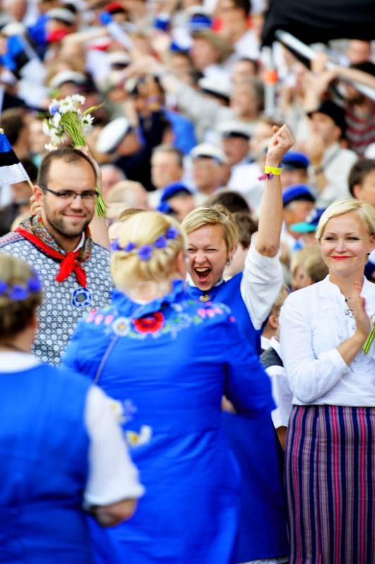 Happy Estonian people!