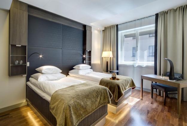 Our Glo Comfort Twin Room in Helsinki, Finland.