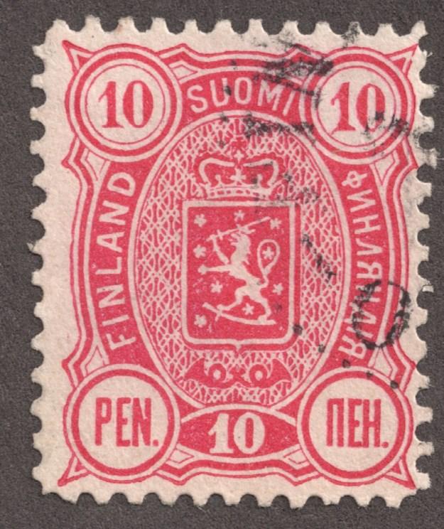 A Finland stamp.