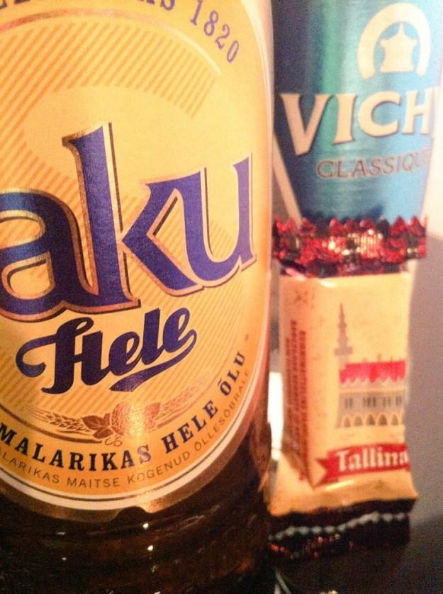 Saku - an Estonian beer.