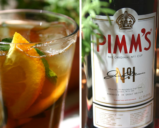 Grab yourself a glass of Pimms! @ TheKitchen