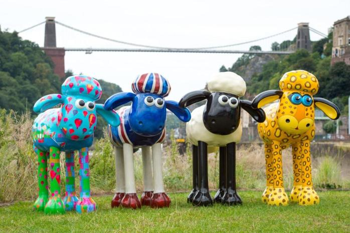 I thought I would put Shaun the Sheep in for light relief, in Bristol LOL!