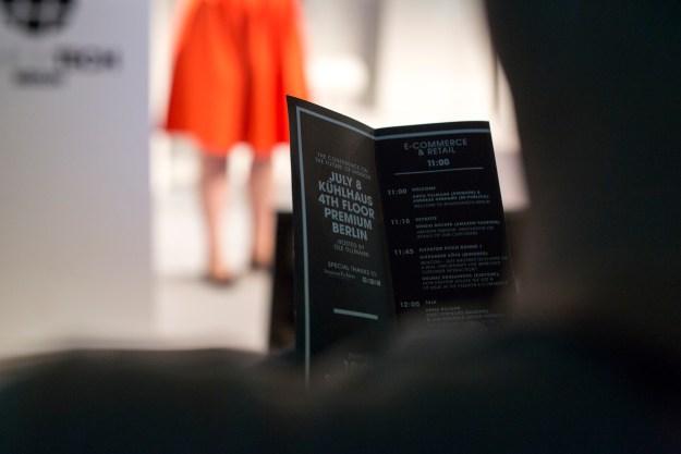 FASHIONTECH BERLIN 08.07.2015 © NILS KRÜGER - Berlin Fashion Week