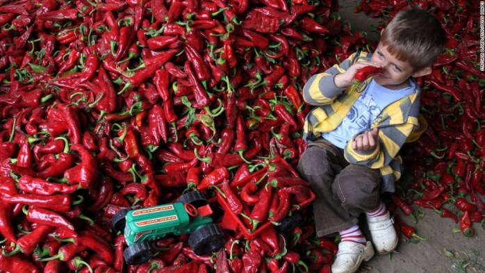 All hail the paprika! ©cnn