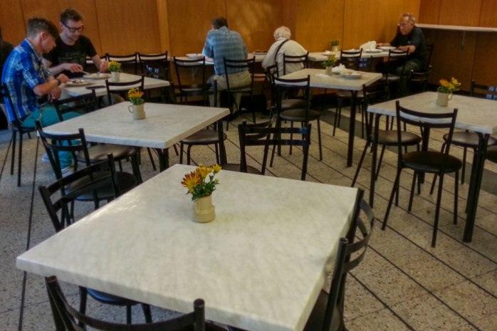 Bar Mleczny Familijny - a milk bar in Warsaw.