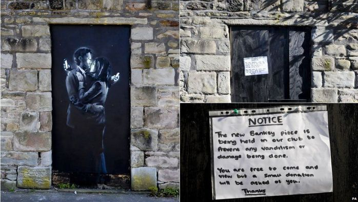 Banksy in Bristol.