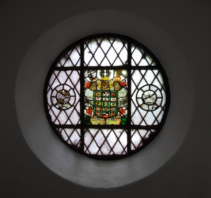 A stained glass window at the Märkisches Museum Berlin ©Pudelek (Marcin Szala).