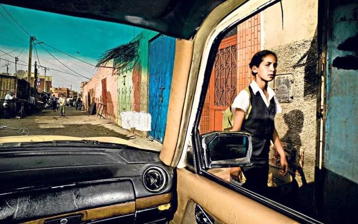Cities from a taxi taken in Marrakech ©Daniel Duart