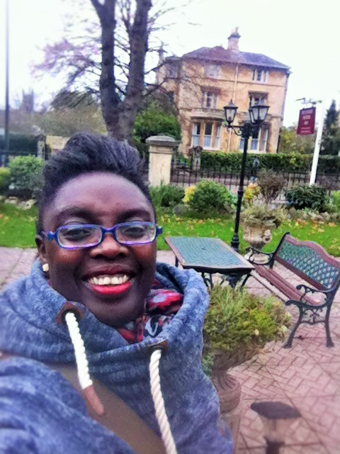 Myself outside Pulteney House!