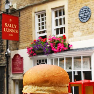 The famous Sally Lunn Bun!