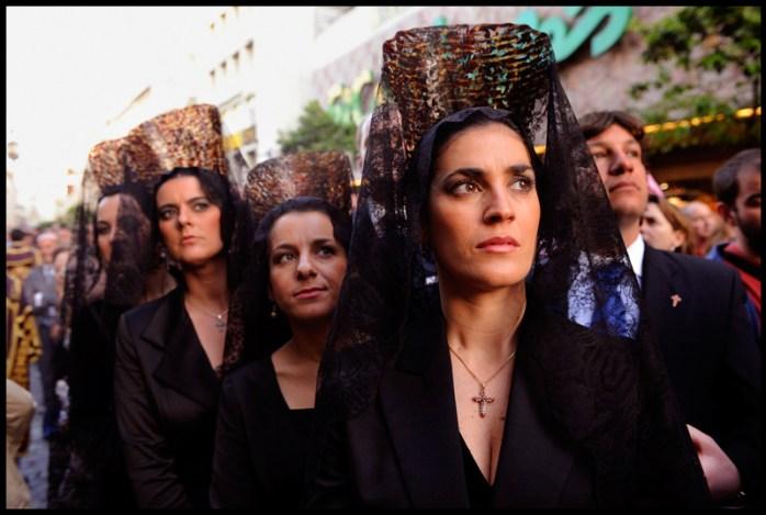 Holy Week, otherwise known as Semana Santa de Sevilla! © Peter Turnley/Corbis.