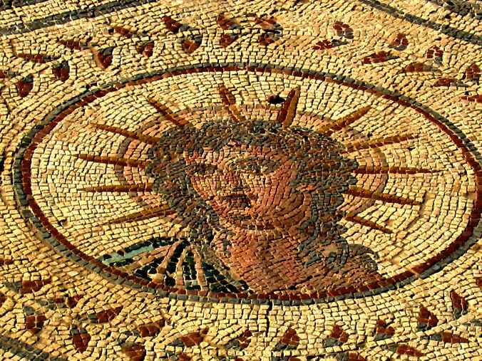 Mosaics at the Italica Archaelogical Complex in Seville!