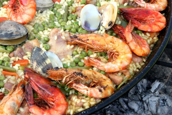Paella in Spain is all you really need!
