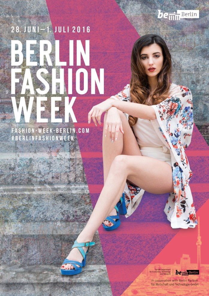 How to be young, bright and absolutely fabulous - showing your stuff at Berlin Fashion Week!