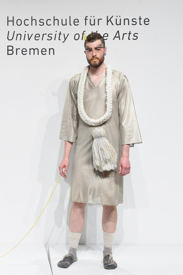 HFK Bremen Acht Graduate Show & Exhibition Mercedes-Benz Fashion Week Berlin Spring/Summer 2017 ©Victor Boyko/Getty Images for IMG