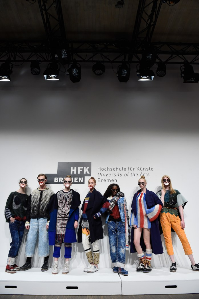 I love giving something back! HFK Bremen Show - Mercedes-Benz Fashion Week Berlin Spring/Summer 2017 © Victor Boyko/Getty Images for IMG