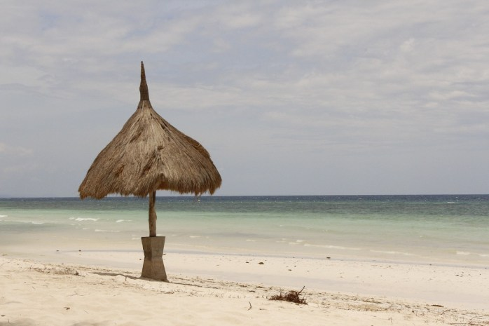 I can't wait to run across the many sandy white tropical beaches such as this, in Bohol!