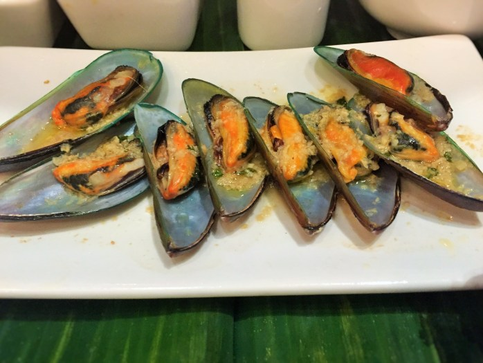Yum! Mussels at #TBEX in Manila!