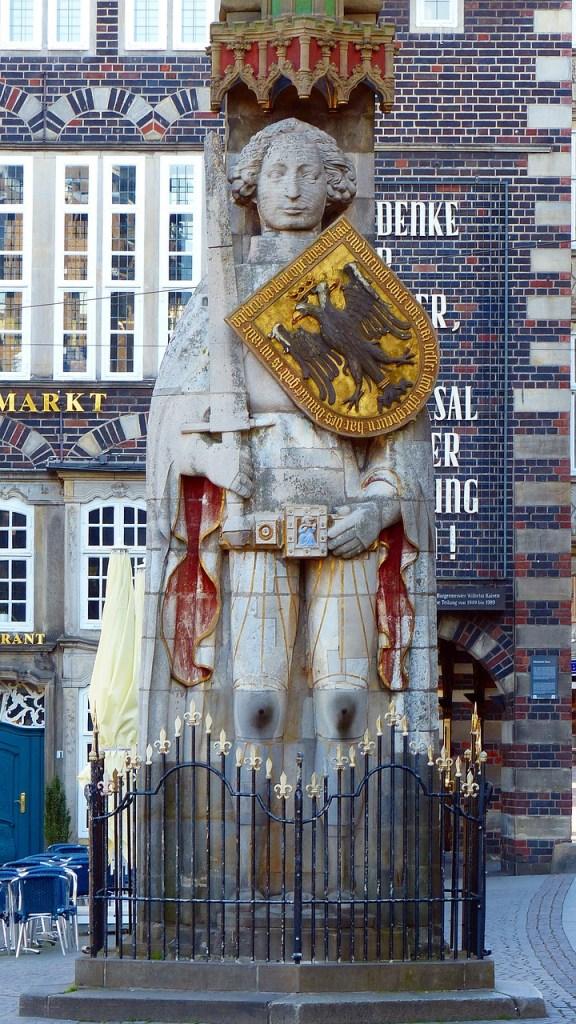 The Statue of Roland in Bremen!