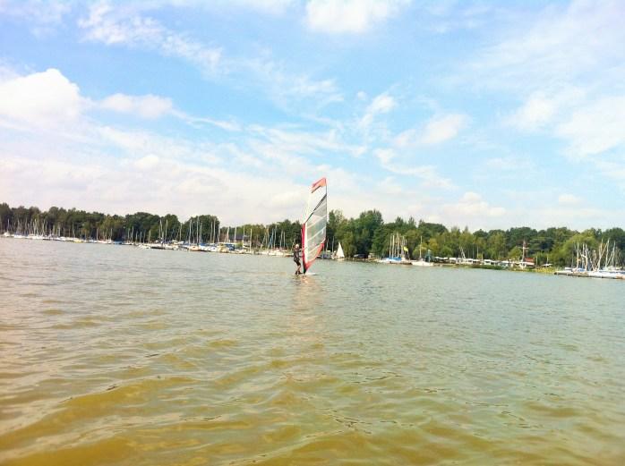 Sailing in Mardorf.