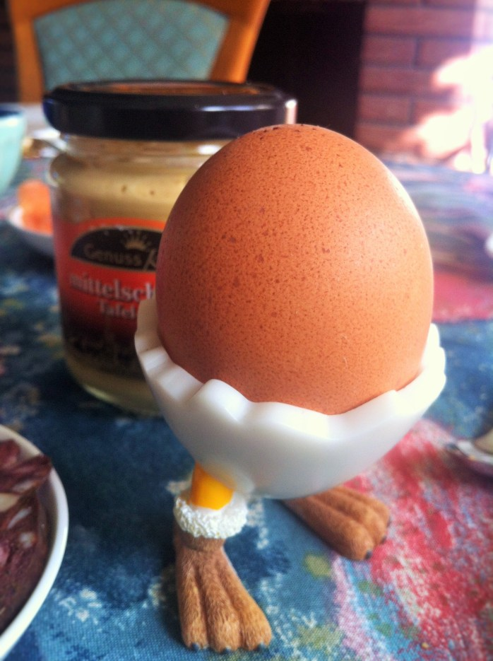 A healthy, but fun, morning egg!