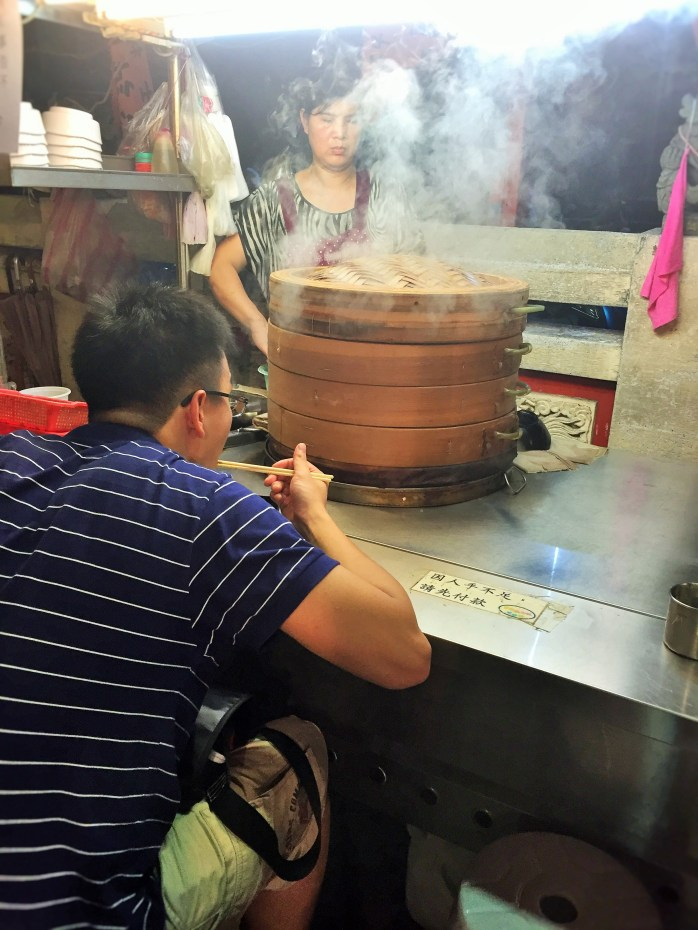 Shanghai Buns at the Shilin Night Market in Taipei!