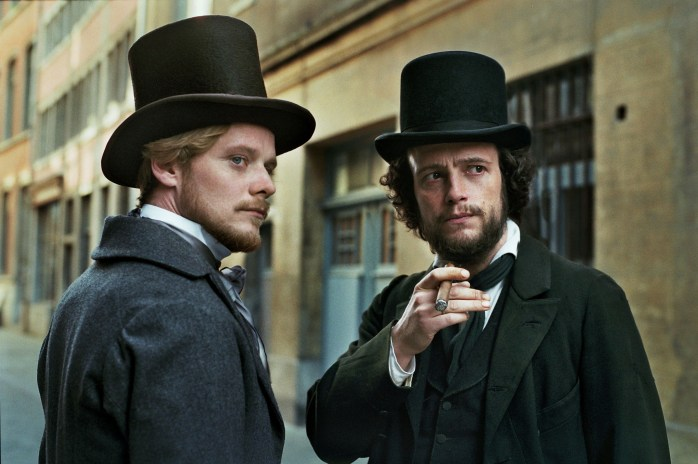The Young Karl Marx - Stefan Konarske & August Diehl ©Kris Dewit
